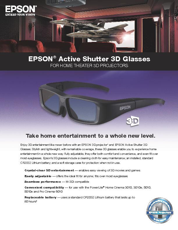 FOR HOME THEATER 3D P