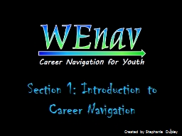 Section 1: Introduction to Career Navigation