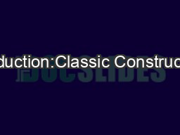 Introduction:Classic Constructions' display home 'The Glebe&