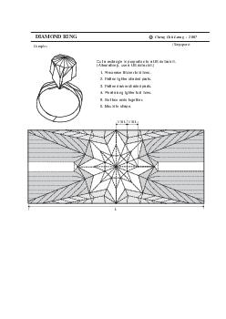 DIAMOND RING Singapore Complex Cheng Chit Leong    L Cut a rectangle in proportion to a US dollar bill
