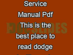 DODGE STEALTH SERVICE MANUAL PDF Did you searching for Dodge Stealth Service Manual Pdf This is the best place to read dodge stealth service manual pdf before service or repair your product and we ho