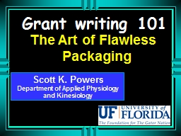 Grant writing 101 PowerPoint PPT Presentation