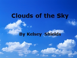 Clouds of the Sky