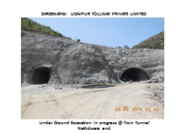 SHREENATHJI UDAIPUR TOLLWAY PRIVATE LIMITED