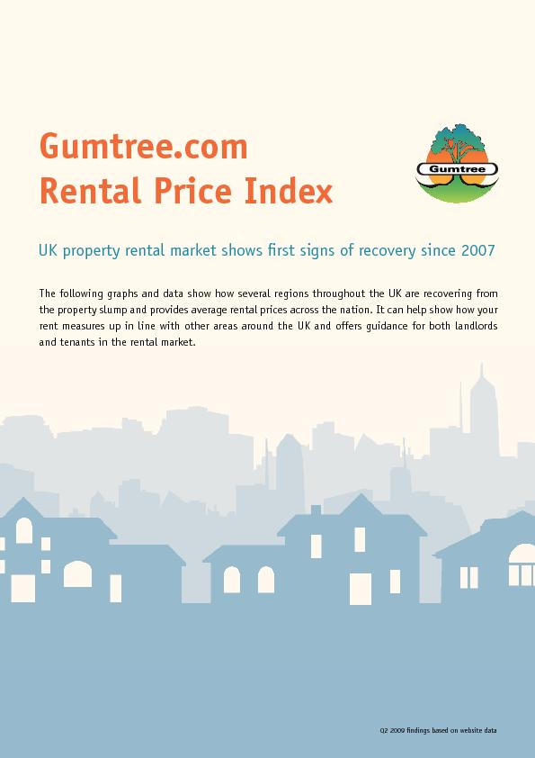 Rental Price Index PowerPoint PPT Presentation