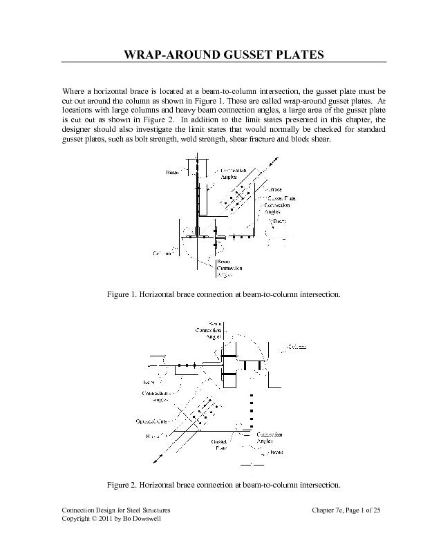 Connection Design for Steel Structures