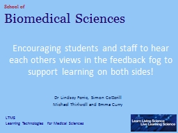 Encouraging students and staff to hear each others views in PowerPoint PPT Presentation