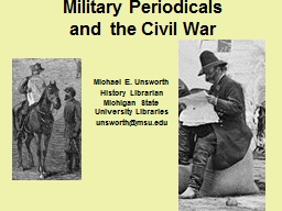 Military Periodicals PowerPoint PPT Presentation