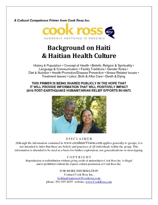 A Cultural Competence Primer from Cook Ross Inc.