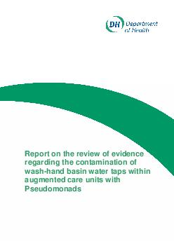 Report on the review of evidence regarding the contamination of washha