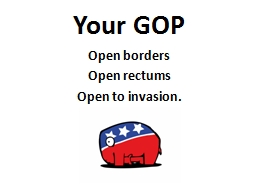 Your GOP PowerPoint PPT Presentation