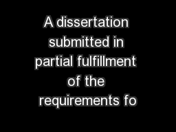 submitted in partial fulfillment of the requirements essay Florida international university miami, florida hunger: essays a  thesis submitted in partial fulfillment of the requirements for.
