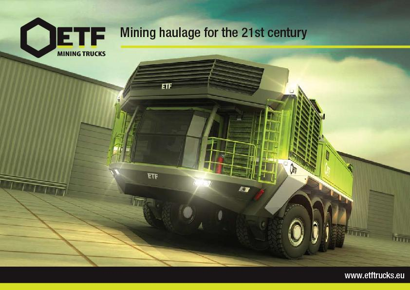 Mining haulage for the 21st century