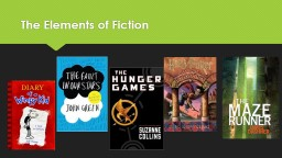 The Elements of Fiction