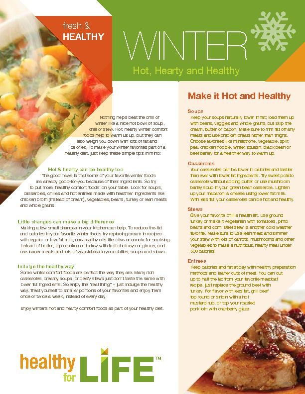 chili or stew. Hot, hearty winter comfortcalories. To make your winter