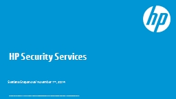 HP Security Services