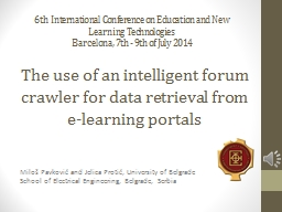 The use of an intelligent forum crawler for data retrieval