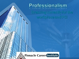 Professionalism PowerPoint PPT Presentation