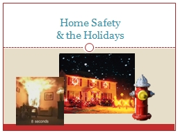 Home Safety PowerPoint PPT Presentation