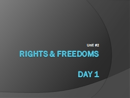 Rights & Freedoms PowerPoint Presentation, PPT - DocSlides