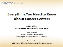 Everything You Need to Know About Cancer Centers