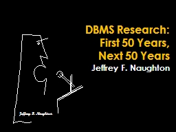 DBMS Research:
