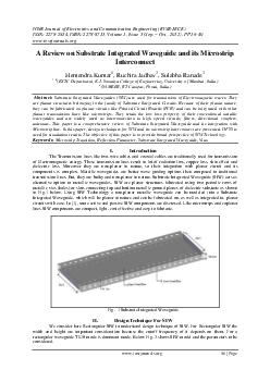 IOSR Journal of Electronics and Communication Engineering IOSR JECE ISSN   ISBN