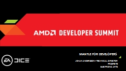 Mantle for developers PowerPoint PPT Presentation