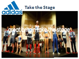 Take the Stage PowerPoint PPT Presentation