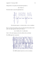 Appendix D  University of Hull D Appendix D  Digital Modulation and GMSK A brief introduction to digital modulation schemes is given showing the logical development of GMSK from simpler schemes