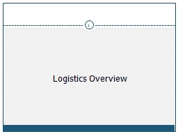 Logistics Overview