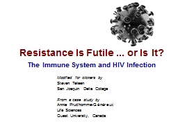 Resistance Is Futile ... or Is It? PowerPoint PPT Presentation