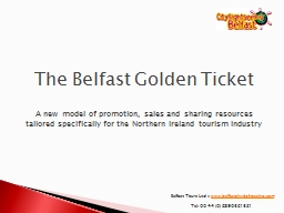 Belfast Tours Ltd ::