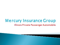 Mercury Insurance Group PowerPoint Presentation, PPT - DocSlides
