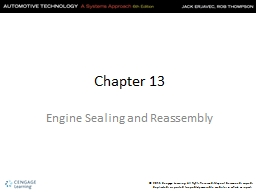 Chapter 13 PowerPoint PPT Presentation