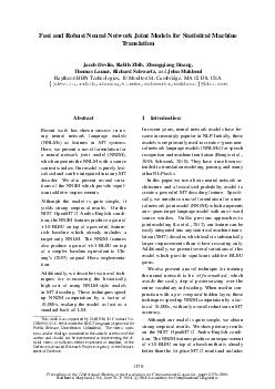 Proceedings of the nd Annual Meeting of the Association for Computational Linguistics  pages  Baltimore Maryland USA June