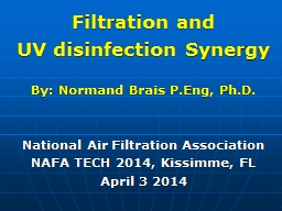 Filtration and