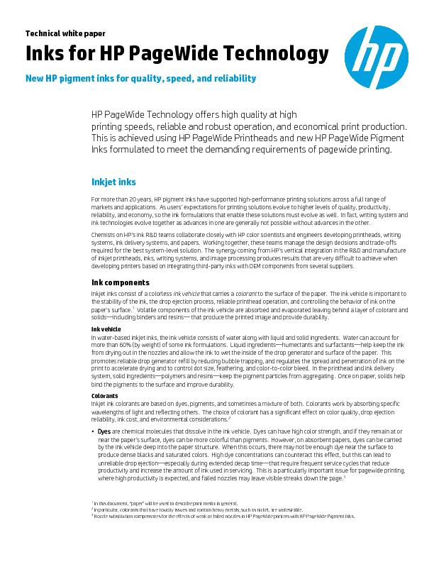 ity, speed, and reliability rs high quality at high  printing speeds,