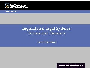 inquisitorial system Define inquisitorial system inquisitorial system synonyms, inquisitorial system pronunciation, inquisitorial system translation, english dictionary definition of inquisitorial system adj 1.