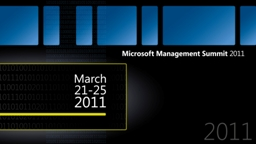 DPM 2012: What goodies are coming