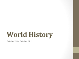 world history powerpoint presentation ppt docslides