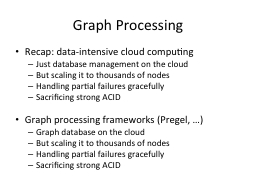 Graph Processing PowerPoint PPT Presentation