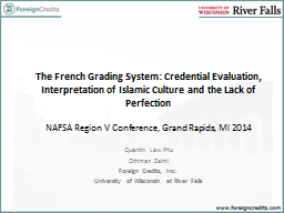 The French Grading System: Credential Evaluation, Interpret