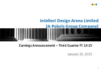 Intellect Design Arena Limited
