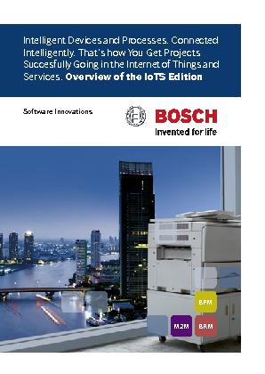 The Bosch software suite The modular software suite for making process