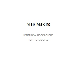 Map Making PowerPoint PPT Presentation