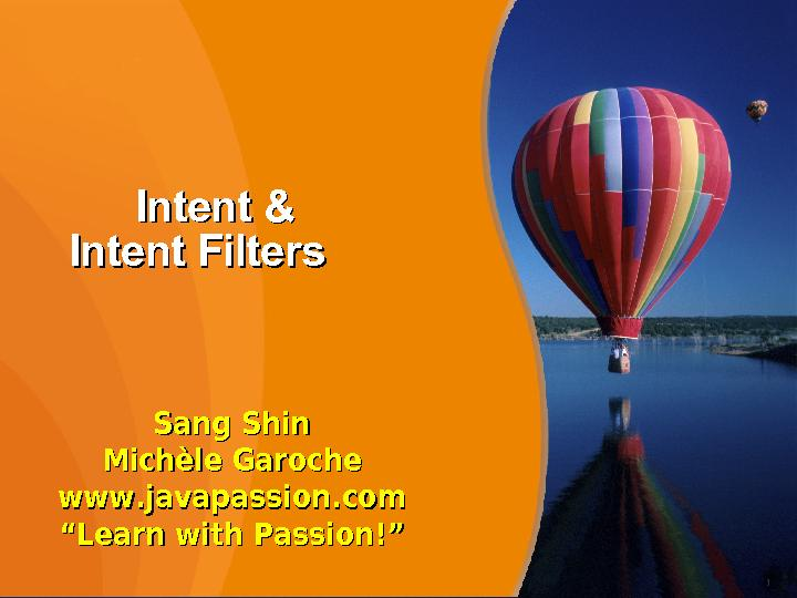Intent Filters