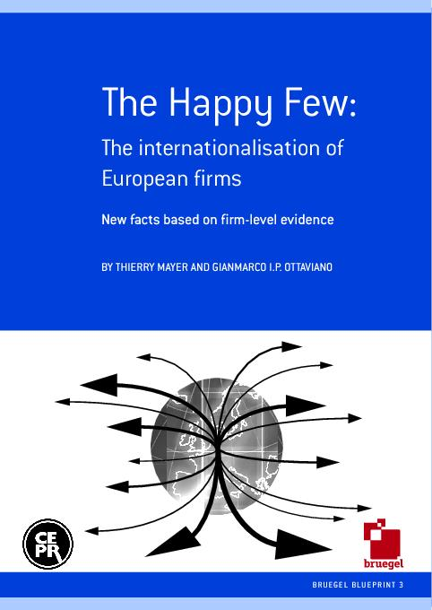 The Happy Few: The internationalisation ofEuropean firmsNew facts base