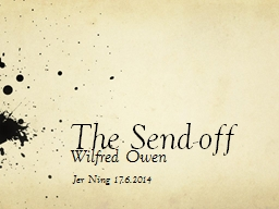 The Send-off