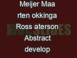 unctional Programming with Bananas Lenses Envelopes and Ba rbed Wire Erik Meijer Maa rten okkinga Ross aterson Abstract develop calculus fo lazy functional rogramming based on recursion op erato rs a